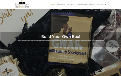 Be Happy Box! A New Website.