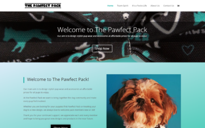 The Pawfect Pack! New Designer Dog Accessory Website!